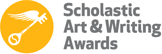 logo for Scholastic Art & Writing Awards and image of a key with wings